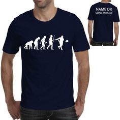 Evolution of Rugby Sports Player Funny Printed T shirt Movie Prints, Funny Prints, Crickets Funny, Evolution T Shirt, Nerd Humor, Funny Tees, Nerd Funny, Types Of Sleeves, Printed