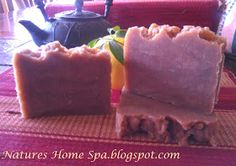 Natures Home Spa: How to use Tea in soap