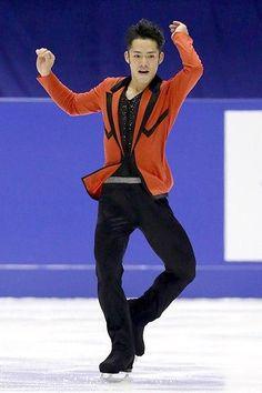 ■[フィギュア]大輔「羽生強い」SP9・64差2位…全日本選手権 高橋は冒頭の4回転トーループが回転不足で着氷が乱れ、羽生に 9・...