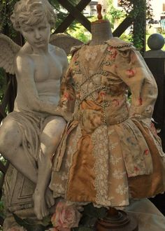 ~~~ Gorgeous French Silk Sateen Bebe Costume ~~~ from whendreamscometrue on Ruby Lane