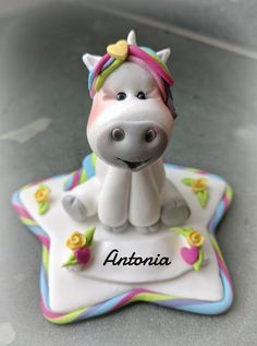 einhorn unicorn fondant pummeleinhorn keksmond my sculpted figures pinterest fondant. Black Bedroom Furniture Sets. Home Design Ideas