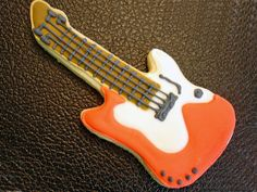 Flour Box Bakery — Electric Guitar Cookie Favor