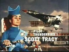 Thunderbirds - TV Series - Intro. ~ WOW who remembers THIS, this show brings back memories !