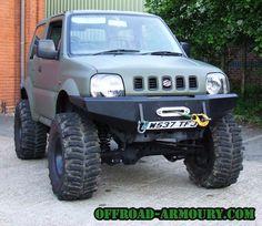 Suzuki Jimny with winch bumper