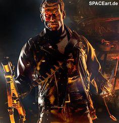 Terminator 2: T-800 Battle Damaged - Premium, Statue / Premium Format Figur ... http://spaceart.de/produkte/te004.php