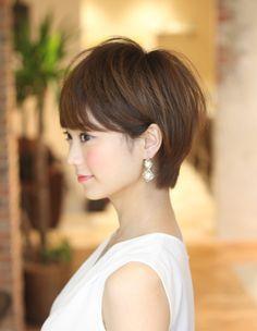 ミセス大人女子を美しく!ショートヘア(KE-457)   ヘアカタログ・髪型・ヘアスタイル AFLOAT(アフロート)表参道・銀座・名古屋の美容室・美容院