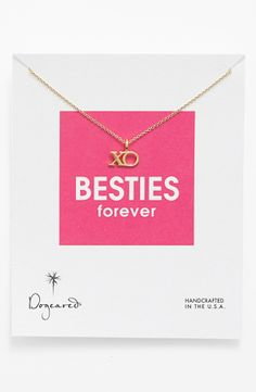 BFF necklace for Valentine's Day <3<3 by Dogeared $41
