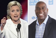Hillary Clinton Adds A-Lister Filled Magic Johnson Event To Latest L.A. Visit