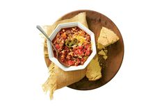 Ground Beef Recipes: Beef-and-Black-Eyed-Pea Chili