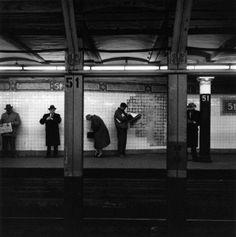 New York..metropolitana 1960 by Enrico Natali