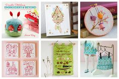 Doodle Stitching Embroidery and Beyond book by Aimee by littledear