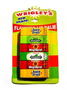 Wrigley's lip balm variety pack | Flickr – 相片分享!