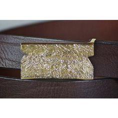 Abstract Belt Handmade Belt Handmade from Cellar Leather