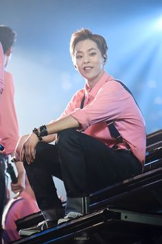 Xiumin - 160318 Exoplanet #2 - The EXO'luXion [dot] Credit: Obsessive.