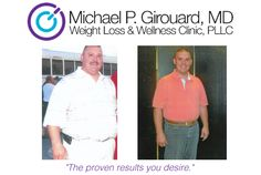 "Robert ""Tony"" Sardler - 92 lbs. lost    Going to Dr. Girouard's office has really turned my life around - losing the weight has improved my career as well as my family life."
