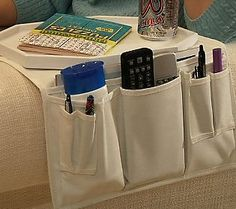 Something similar but prettier would be nice.Couch Tray Table and Organizer by Lori Greiner Coffee Table Alternatives, Couch Tray, Design Projects, Diy Projects, Cleaners Homemade, Qvc, Organization Hacks, Cleaning Hacks, Sweet Home