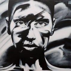 "Saatchi Art Artist David Scholes; Painting, ""La Incognita"" #art"