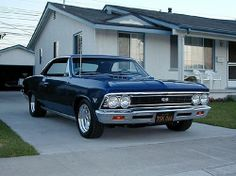 1966 CHEVELLE SS 396 by northerntool, via Flickr