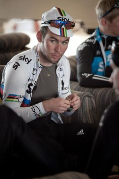 Mark Cavendish, the world champion and fastest sprinter - ever!?!
