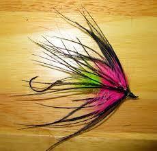 Fish Taco Pink x 3 Steelhead, Salmon, Trout, Bass Fly Fishing Flies