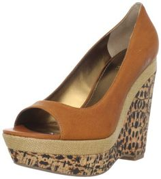 ee89f2245521 Nine West Women's Matchup Peep-Toe Pump Peep Toe Shoes, Shoe Closet, Natural