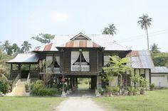 Traditional Malay House, Penaga, Penang, Malaysia