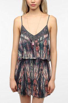 Ecote Double Layer Knit Dress