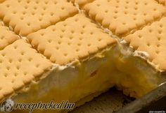 My Recipes, Cooking Recipes, Hungarian Cake, Pound Cake, No Bake Desserts, Tiramisu, Muffin, Goodies, Food And Drink