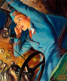 Vintage Stewardesses: Fasten Your Seat Belts!
