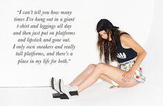 Rachel Finley - aka Steak - does it better in the Hot Dot Chelsea Boot (http://www.nastygal.com/lookbooks-shoe-cult/hot-dot-chelsea-boot) #ShoeCult
