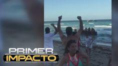 Nuevo video de violenta manera que fueron recibidos balseros cubanos en ...