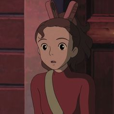 Secret World Of Arrietty, The Secret World, Studio Ghibli, Disney Characters, Fictional Characters, Anime, Disney Princess, Icons, Art