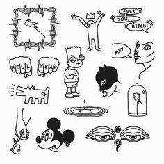 Di moda tattoo small lungs – Graffiti World Simbolos Tattoo, Doodle Tattoo, Poke Tattoo, Dark Tattoo, Doodle Art, Sketch Tattoo Design, Tattoo Sketches, Tattoo Drawings, Body Art Tattoos