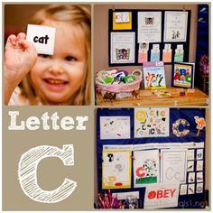 Home #Preschool Letter C