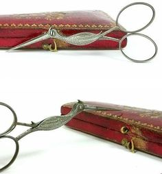 1750 Stork Embroidery Scissors