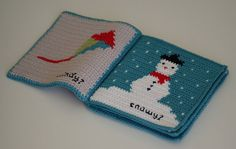 Crochet Pattern Weather Baby Book Soft Book by FranklyFair