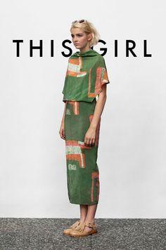 Osei Duro Katharos Dress Lose the shoes Fashion Mode, Look Fashion, Fashion Outfits, Fashion Design, Green Fashion, Moda Outfits, Pulls, Fashion Prints, Green Dress