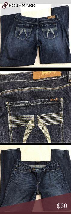 Women's Seven7 straight leg jeans 14 Great condition Seven7 Jeans Straight Leg
