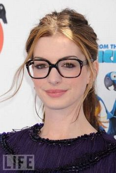 Female Celebrities with Glasses -Know how to get free #celebrity #fanmail #autographs? Click to discover how.