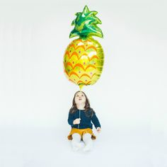 Giant Pineapple Balloon from Pretty Little Party Shop - Stylish Party