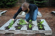 Pallet Gardening – How to Create a Wood Pallet Garden - One Hundred Dollars a Month
