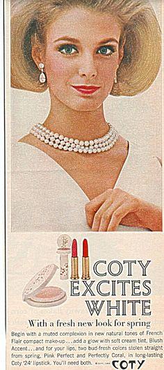 Coty compact make up ad 1964 (Image1)