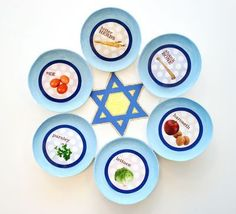Star David Seder Plate step Ideas for Kids to Make Seder Plates for Passover