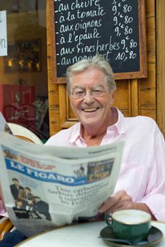 Peter Mayle, he inspired my dreams of Provence. Thank you!