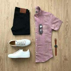 Are you wondering how to wear white sneakers for men or how to look sharp in simple jeans and casual shirt outfits? Then this 30 coolest casual street style looks is just the perfect guide you need to help you look AMAZING! Stylish Men, Men Casual, Casual Chic, Casual Outfits, Fashion Outfits, Fashion Tips, Men's Outfits, Casual Attire, Lifestyle Fashion