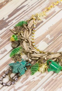 Get inspired by the great outdoors and create this whimsical DIY garden necklace with our simple tutorial.