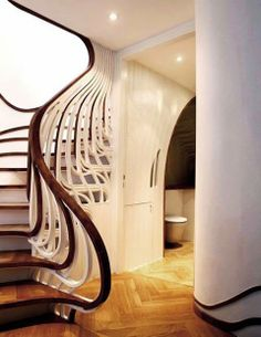 Unusual Stairs Design - Stylish modern stairs and creative staircase designs from all over the world. #architecture #design #stair