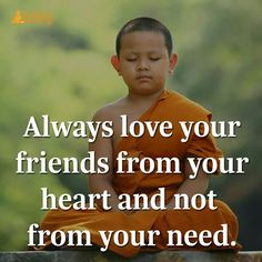 Love from your heart not from your need