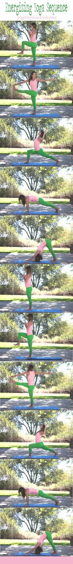 Energizing yoga sequence to combat the midday slump