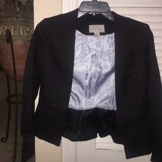 H & M black blazer H & M black blazer size 4. Only worn twice and in excellent condition. Perfect for the season! H&M Jackets & Coats Blazers